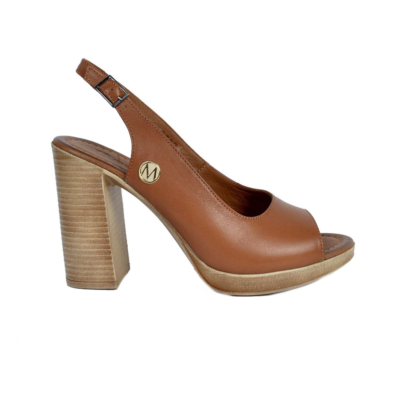 Messimod Kadın Deri Sandalet 3507