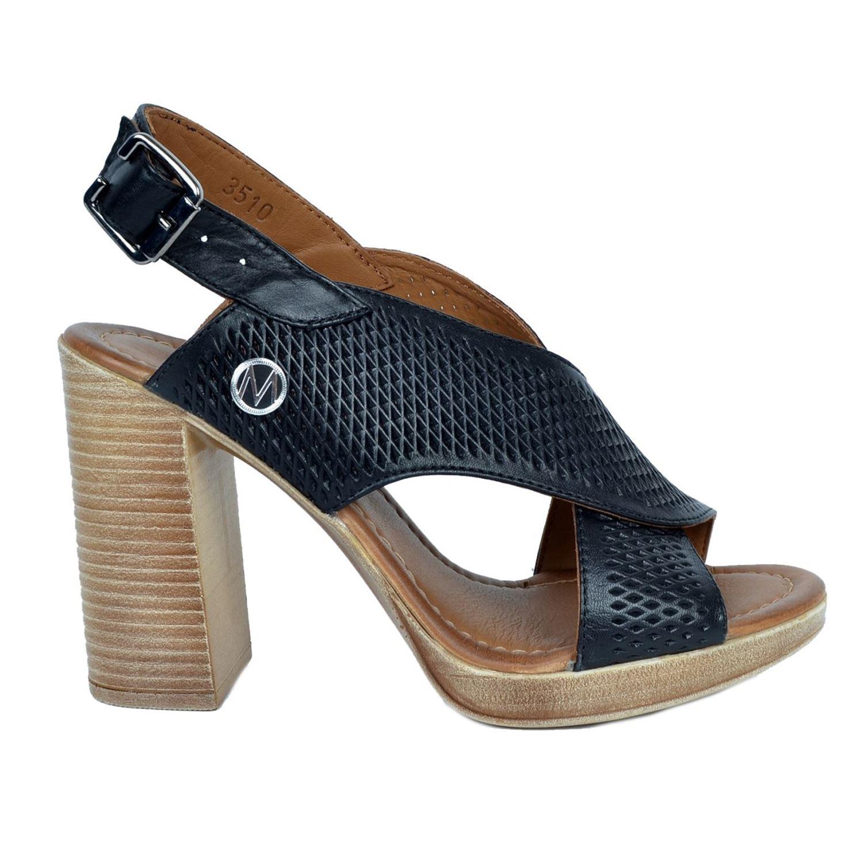Messimod Kadın Deri Sandalet 3510