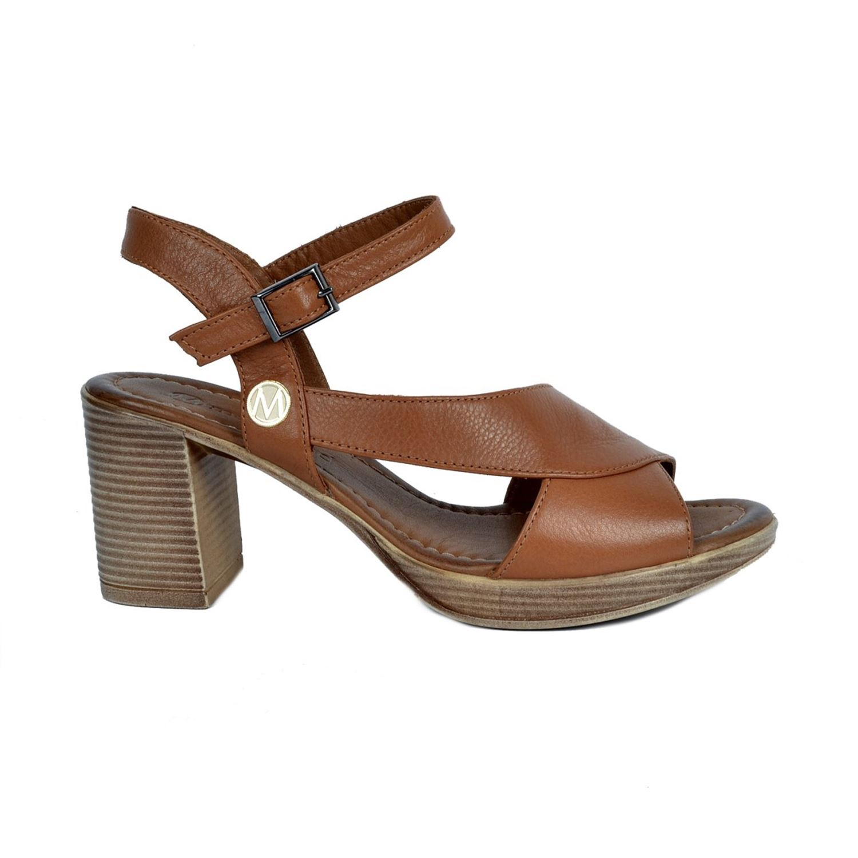 Messimod Kadın Deri Sandalet 3500