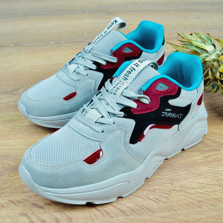 Gri Erkek Spor Ayakkabı 24687