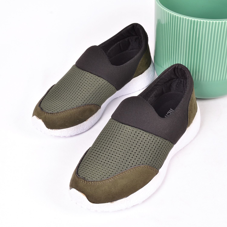 Haki Kadın Spor Ayakkabı 100
