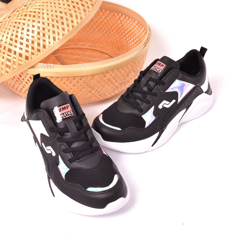 Jump 24800 Siyah Kadın Spor Ayakkabı