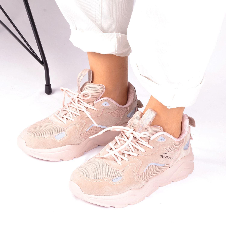 Kadın Pudra Spor Ayakkabı