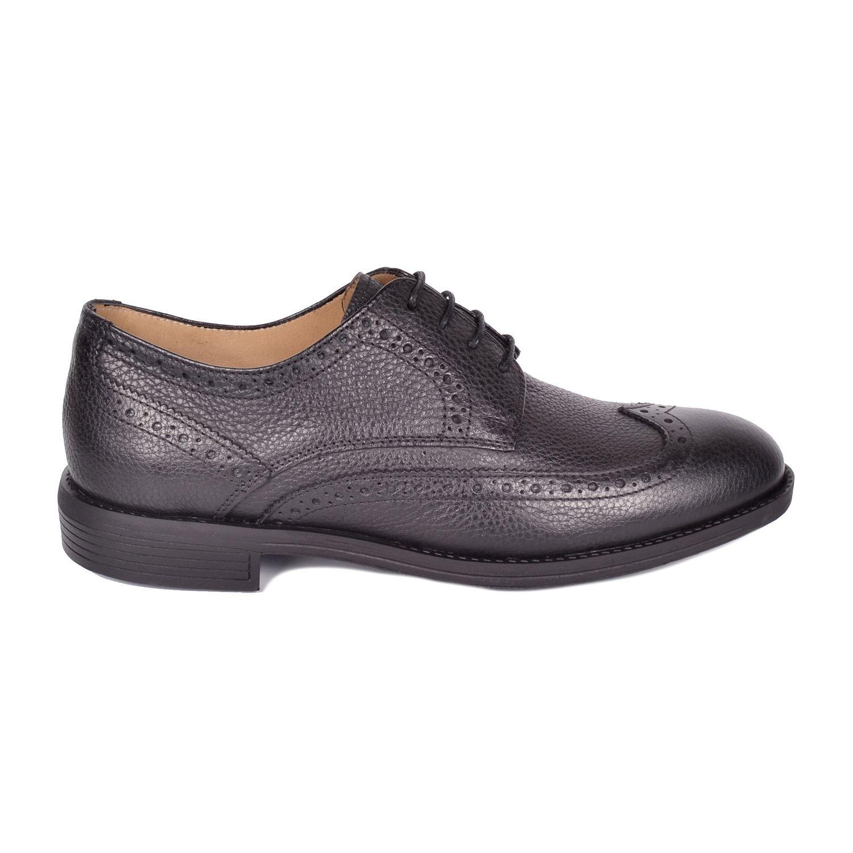 Siyah Erkek Deri Ayakkabı 709