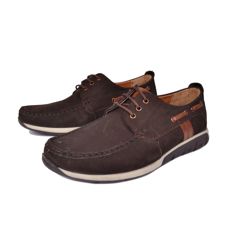Kahve Erkek Deri Ayakkabı 11