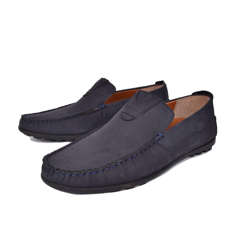 Lacivert Erkek Deri Ayakkabı 355