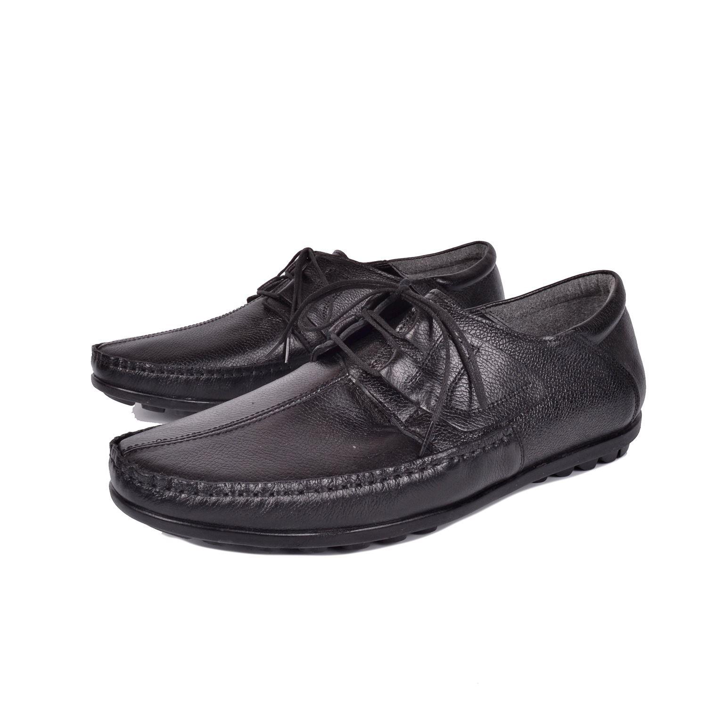 Siyah Erkek Deri Ayakkabı 403