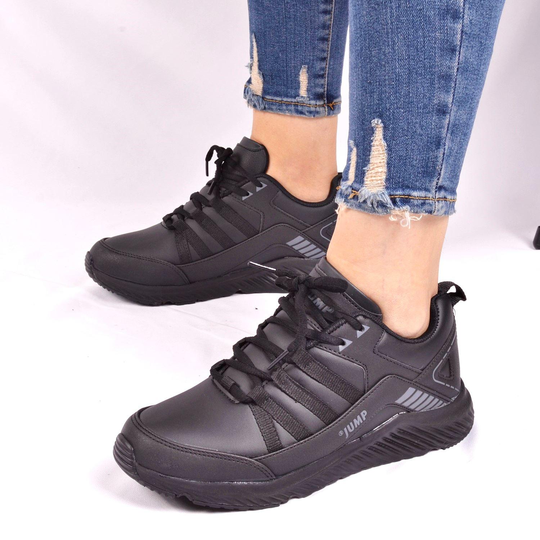 Siyah Kadın Spor Ayakkabı 25937