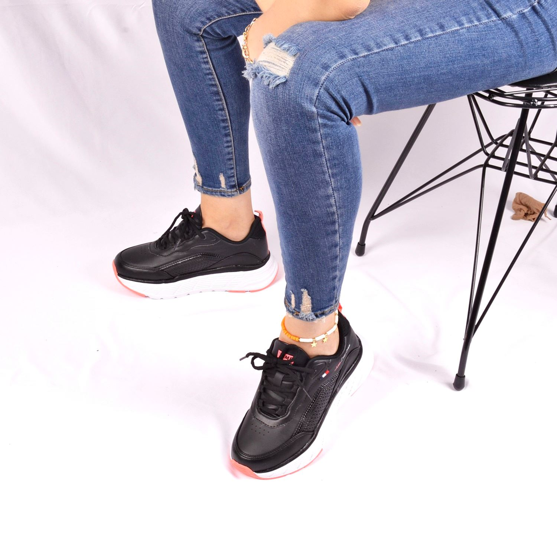 Jump 25745 Siyah Kadın Spor Ayakkabı