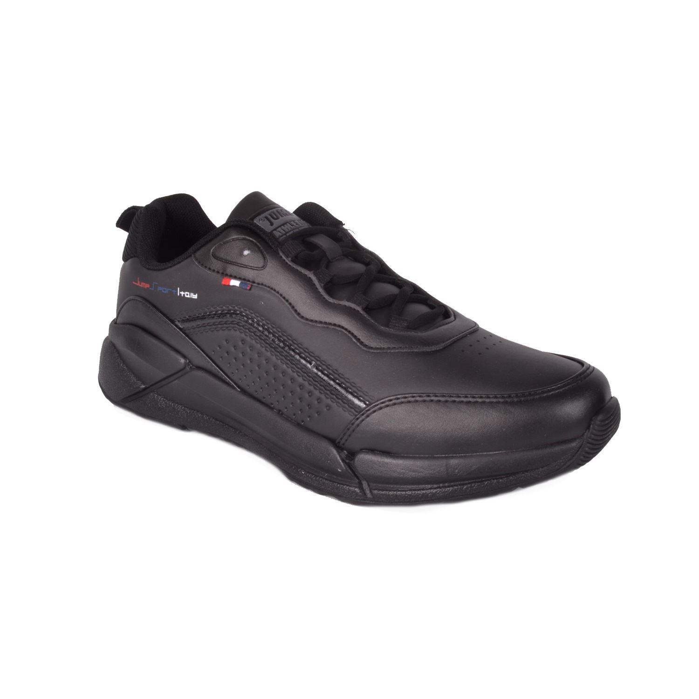 Siyah Büyük Numara Erkek Spor Ayakkabı 25662