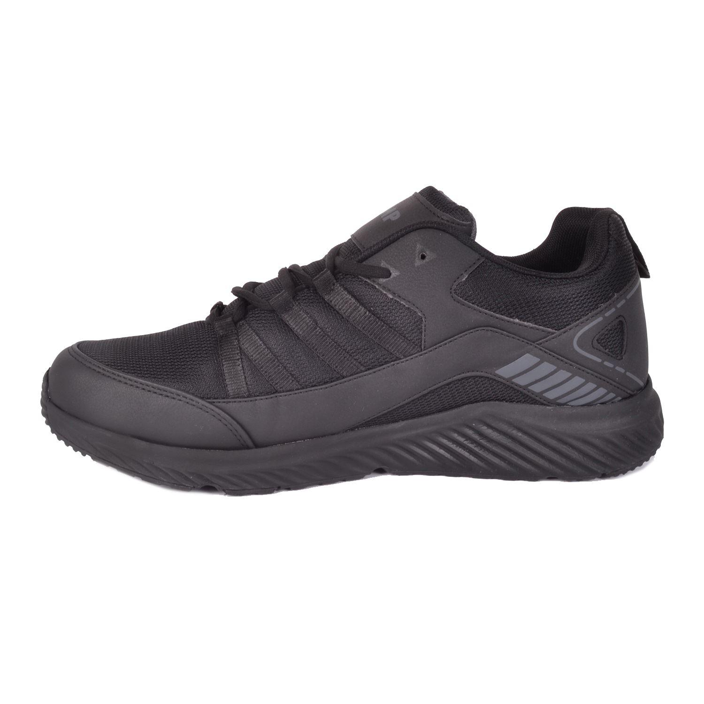 Siyah Büyük Numara Erkek Spor Ayakkabı 24865