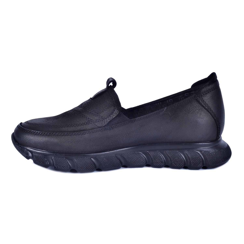 Siyah Kadın Deri Ayakkabı 460