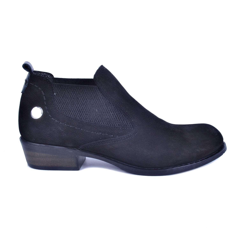 Siyah Kadın Topuklu Deri Ayakkabı 225