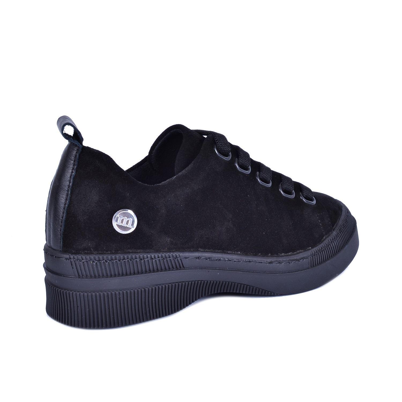 Siyah Kadın Günlük Deri Ayakkabı 3170