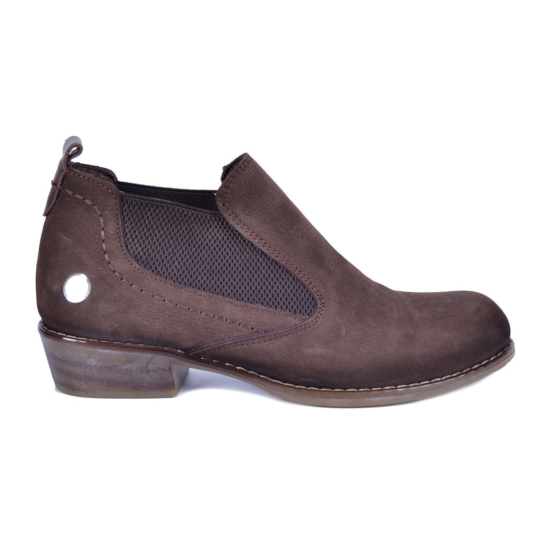 Kahve Kadın Topuklu Deri Ayakkabı 225
