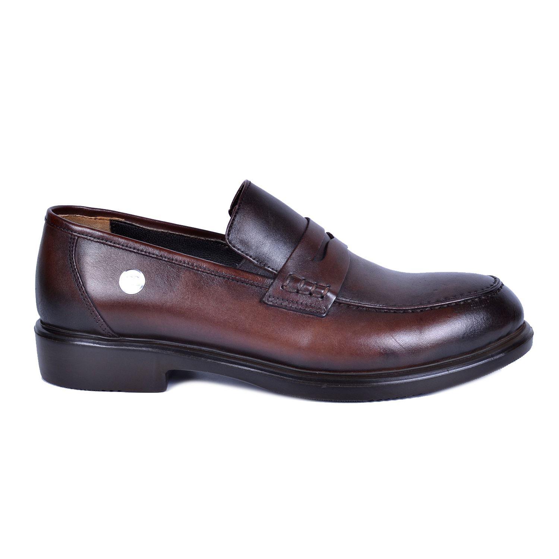 Kahve Erkek Deri Ayakkabı 7160