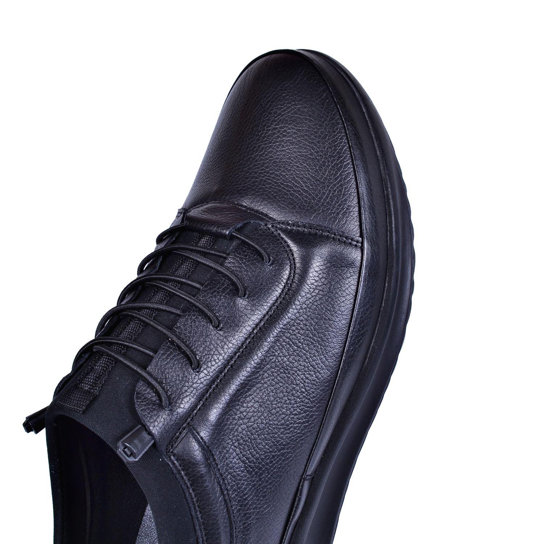 Siyah Erkek Deri Ayakkabı 1411