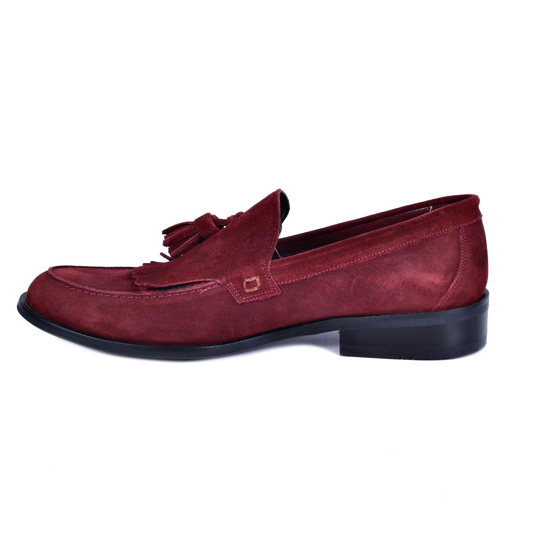 Bordo Erkek Deri Ayakkabı 2033