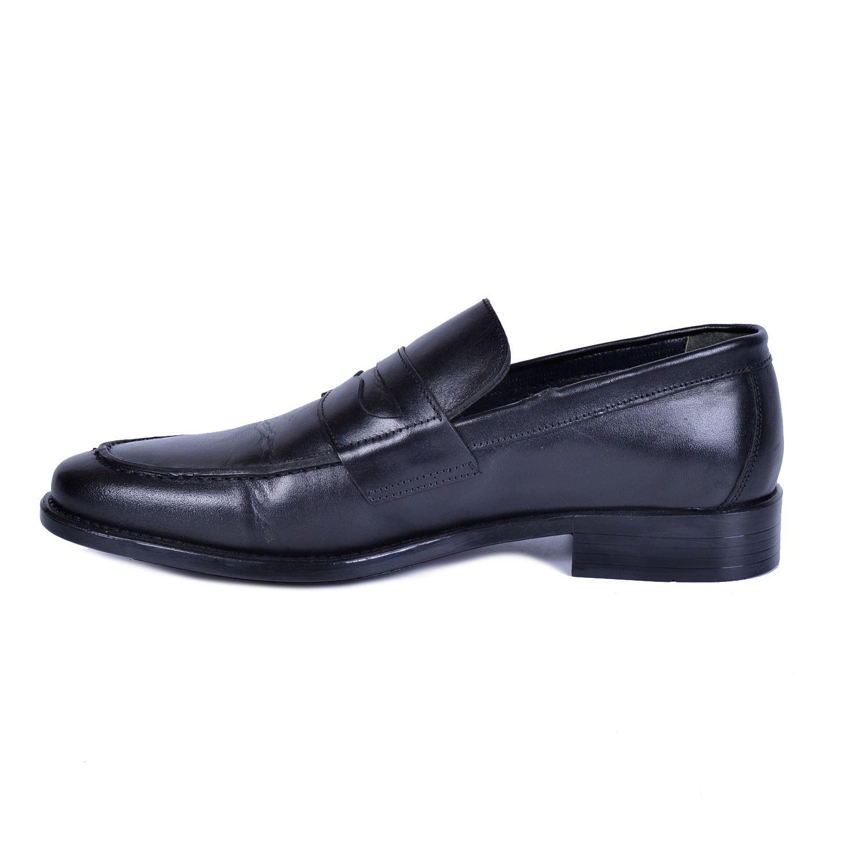 Siyah Erkek Deri Ayakkabı 494