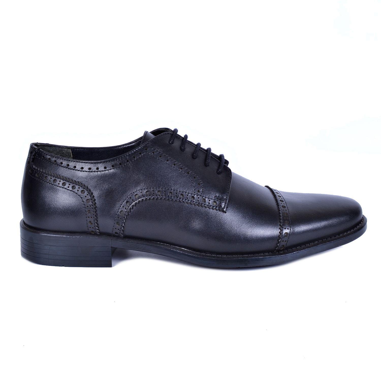 Siyah Erkek Deri Ayakkabı 493