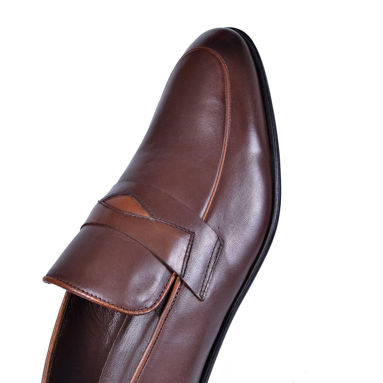 Kahve Erkek Deri Ayakkabı 211