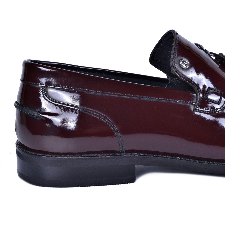 Pierre Cardin Bordo Deri Klasik Ayakkabı 16301