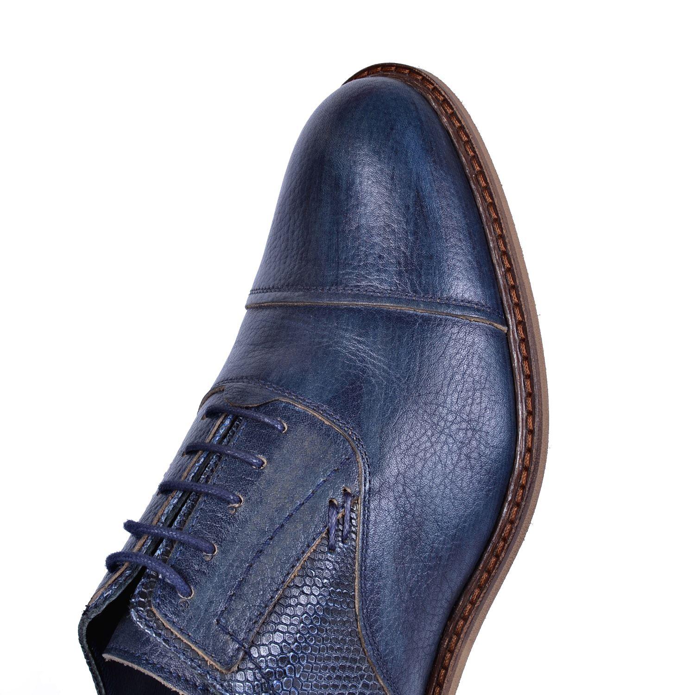 Lacivert Deri Klasik Ayakkabı 3850