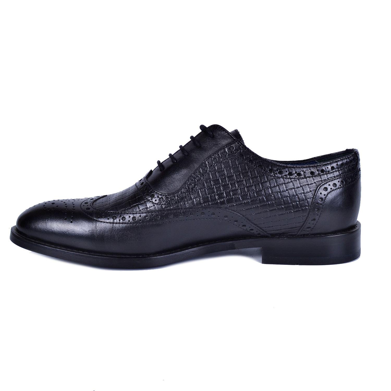Siyah Deri Klasik Ayakkabı 3642