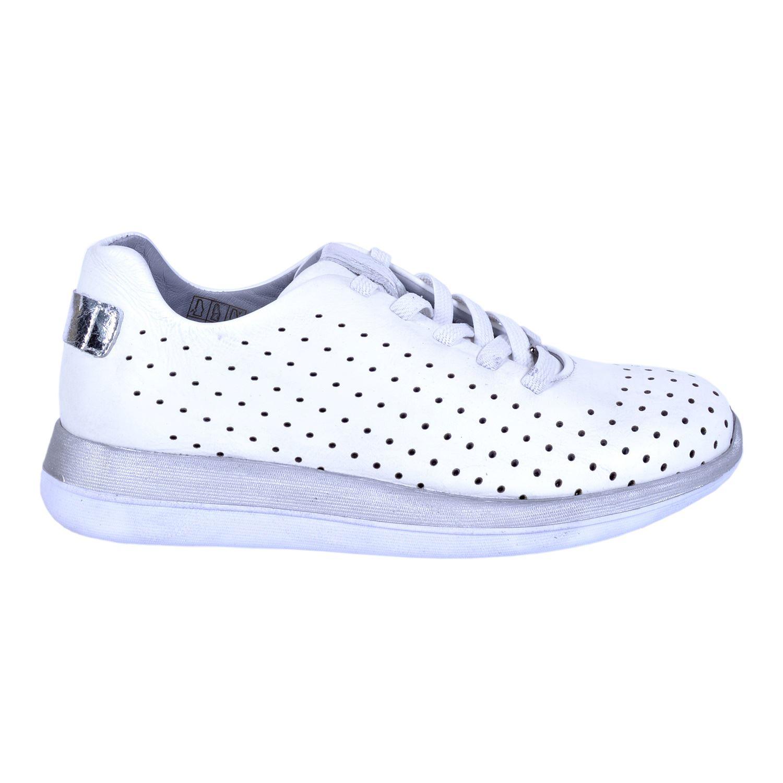 Beyaz Kadın Deri Ayakkabı 310