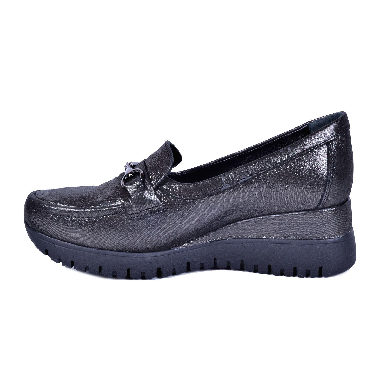 Gri Kadın Deri Ayakkabı 3240