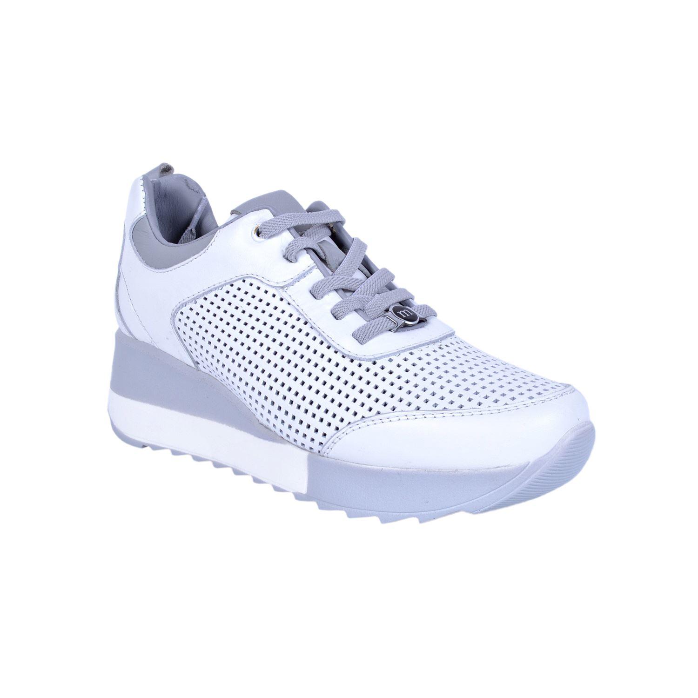 Beyaz Kadın Deri Ayakkabı 3265