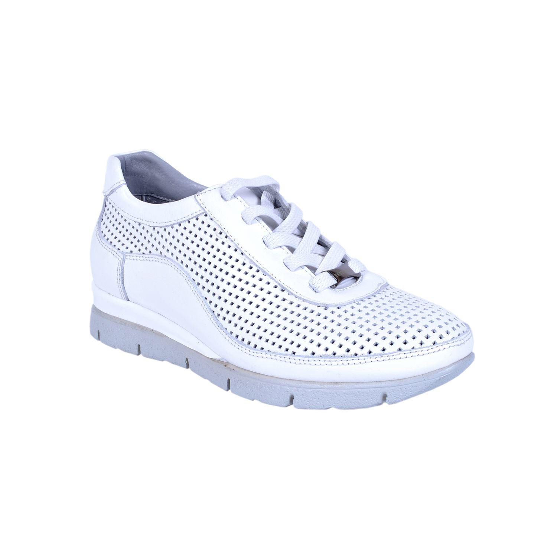 Beyaz Kadın Deri Ayakkabı 3305