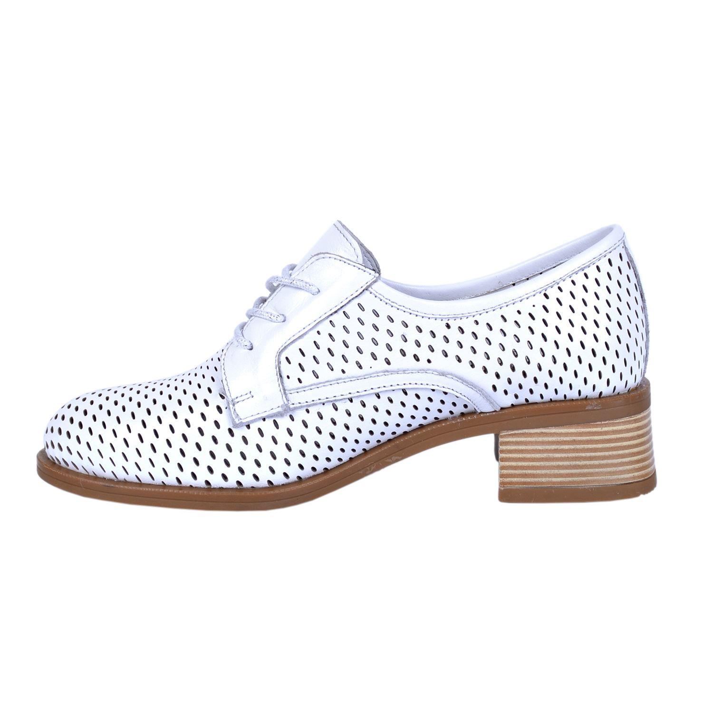 Beyaz Kadın Deri Ayakkabı 425