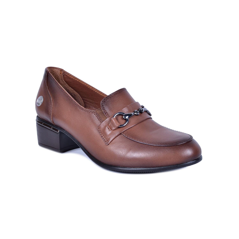 Taba Kadın Deri Ayakkabı 3020