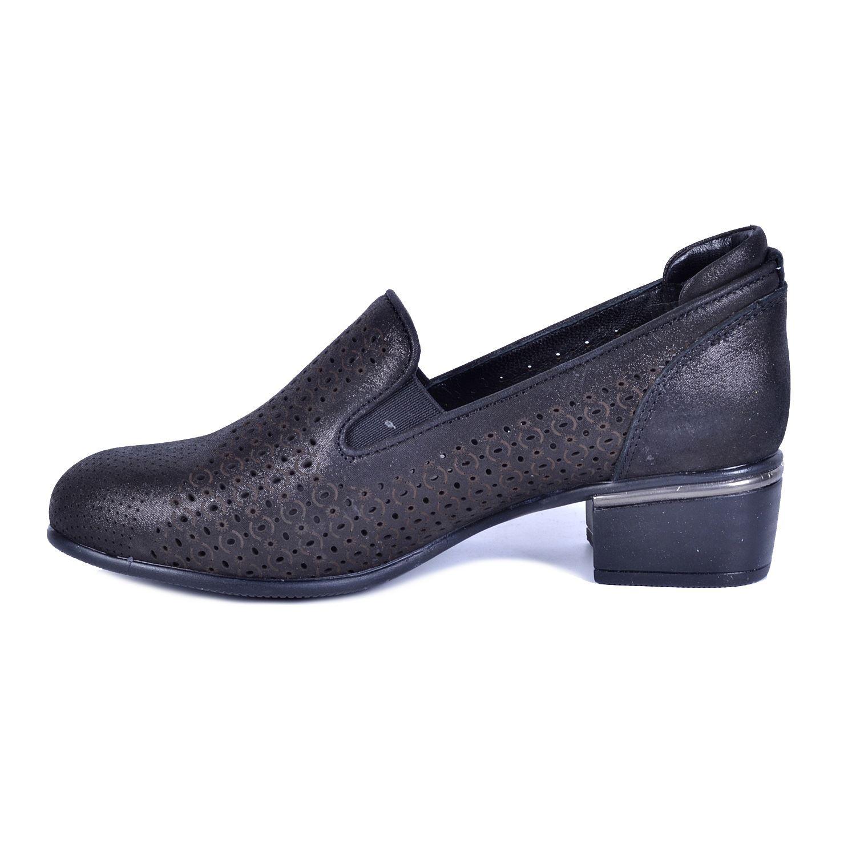 Siyah Kadın Deri Ayakkabı 3010