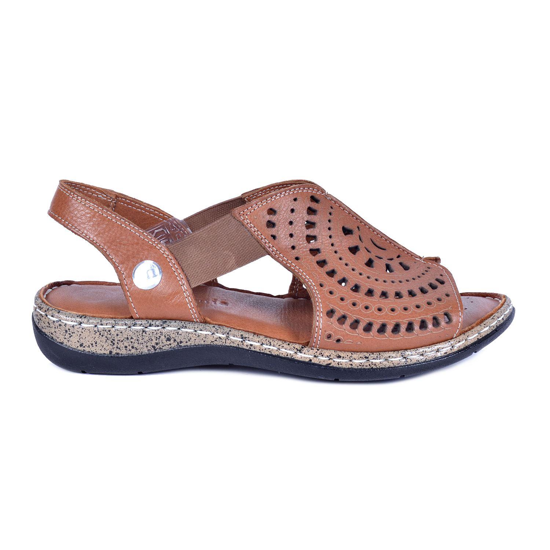 Taba Kadın Deri Sandalet 1380