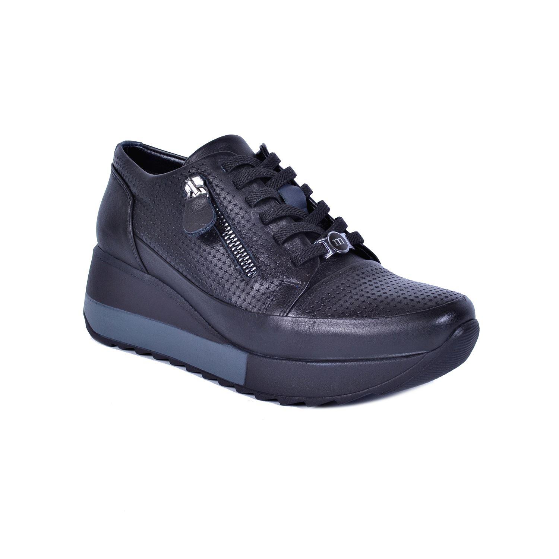 Mammamia 3640 Siyah Kadın Deri Ayakkabı