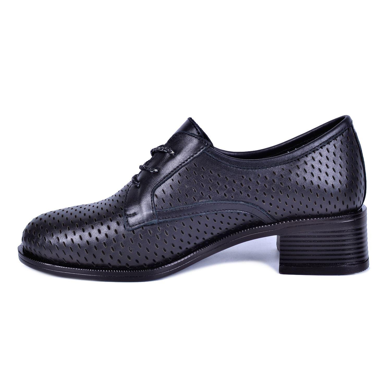 Mammamia 425 Siyah Kadın Deri Ayakkabı