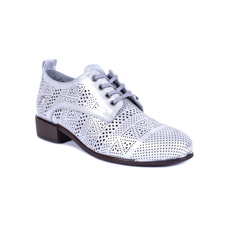 Mammamia 3000 Gri Kadın Deri Ayakkabı