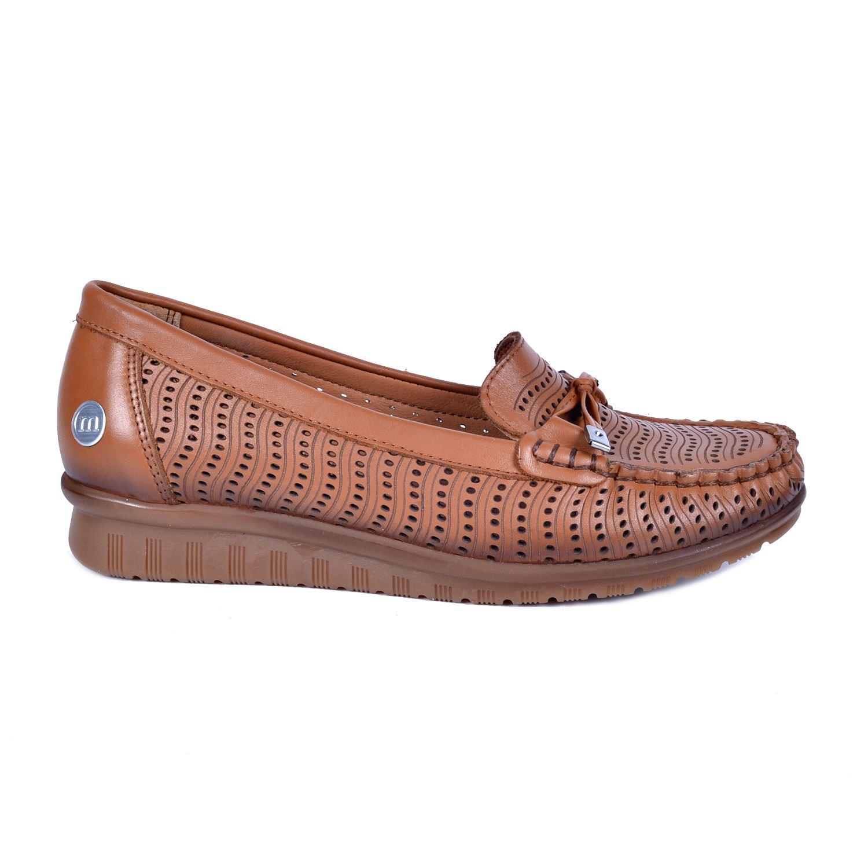 Mammamia 490 Taba Kadın Deri Ayakkabı