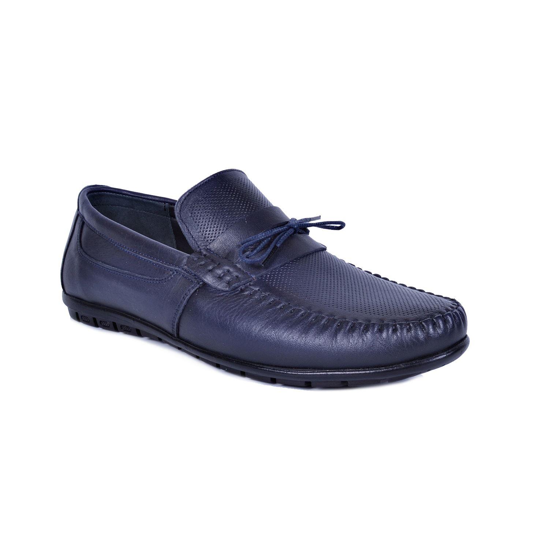 Lacivert Erkek Deri Ayakkabı 44