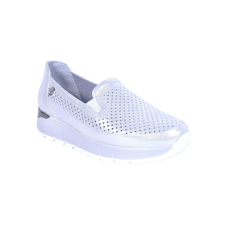 Mammamia 285 Gri Kadın Deri Ayakkabı