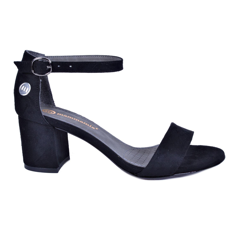 Mammamia 3440 Siyah Kadın Sandalet