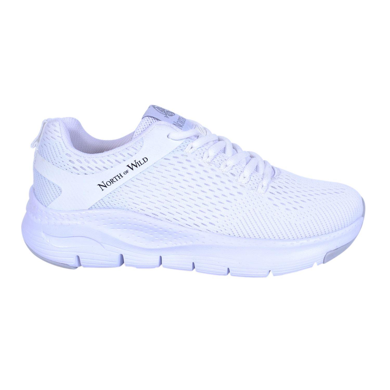 North Of Wild Unreval Beyaz Kadın Spor Ayakkabı