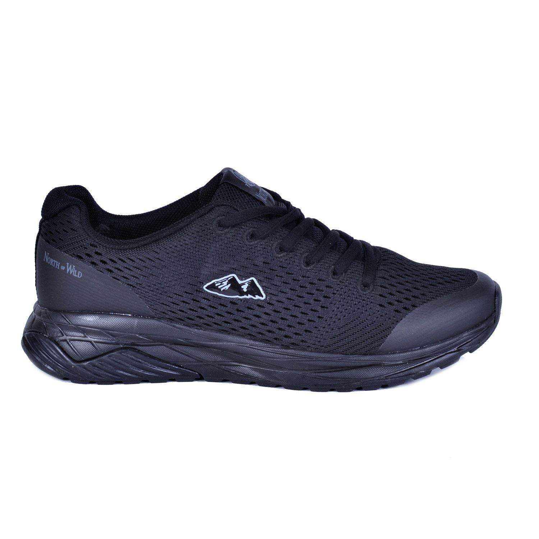 North Of Wild Ekolayır Siyah Erkek Spor Ayakkabı