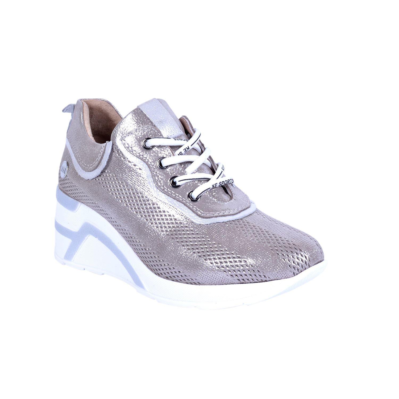 Mammamia 15 Vizon Kadın Deri Ayakkabı