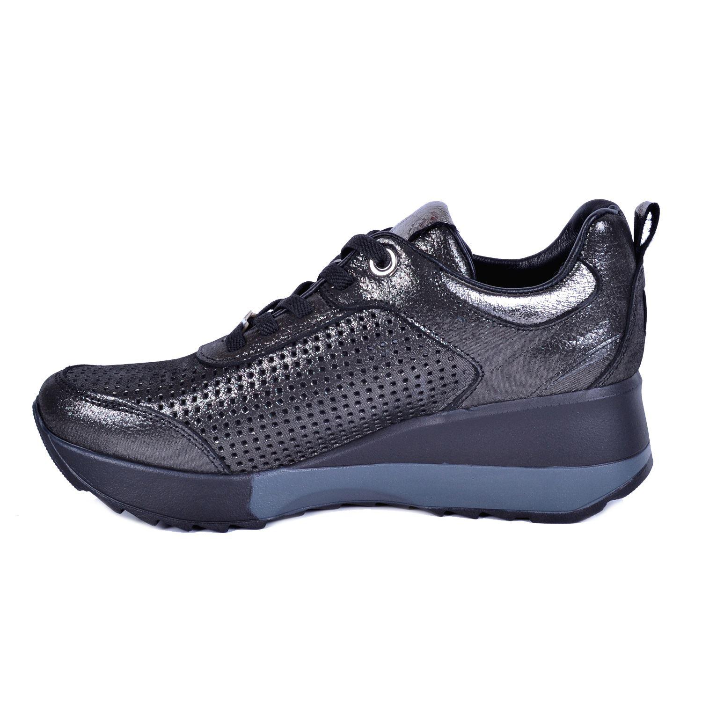 Mammamia 3265 Gri Kadın Deri Ayakkabı