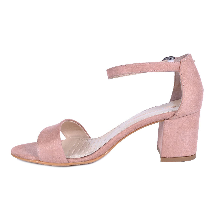 Mammamia 3440 Pudra Kadın Sandalet