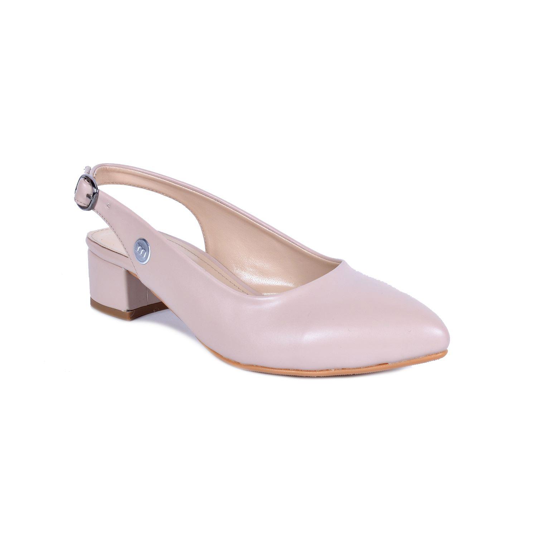 Mammamia 3480 Bej Kadın Sandalet