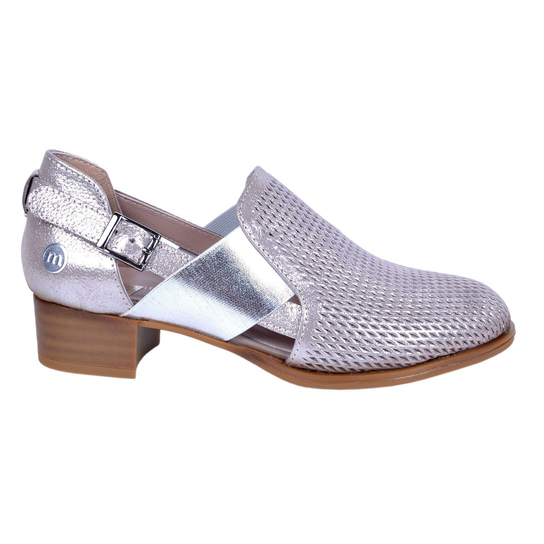 Mammamia 445 Vizon Kadın Deri Ayakkabı